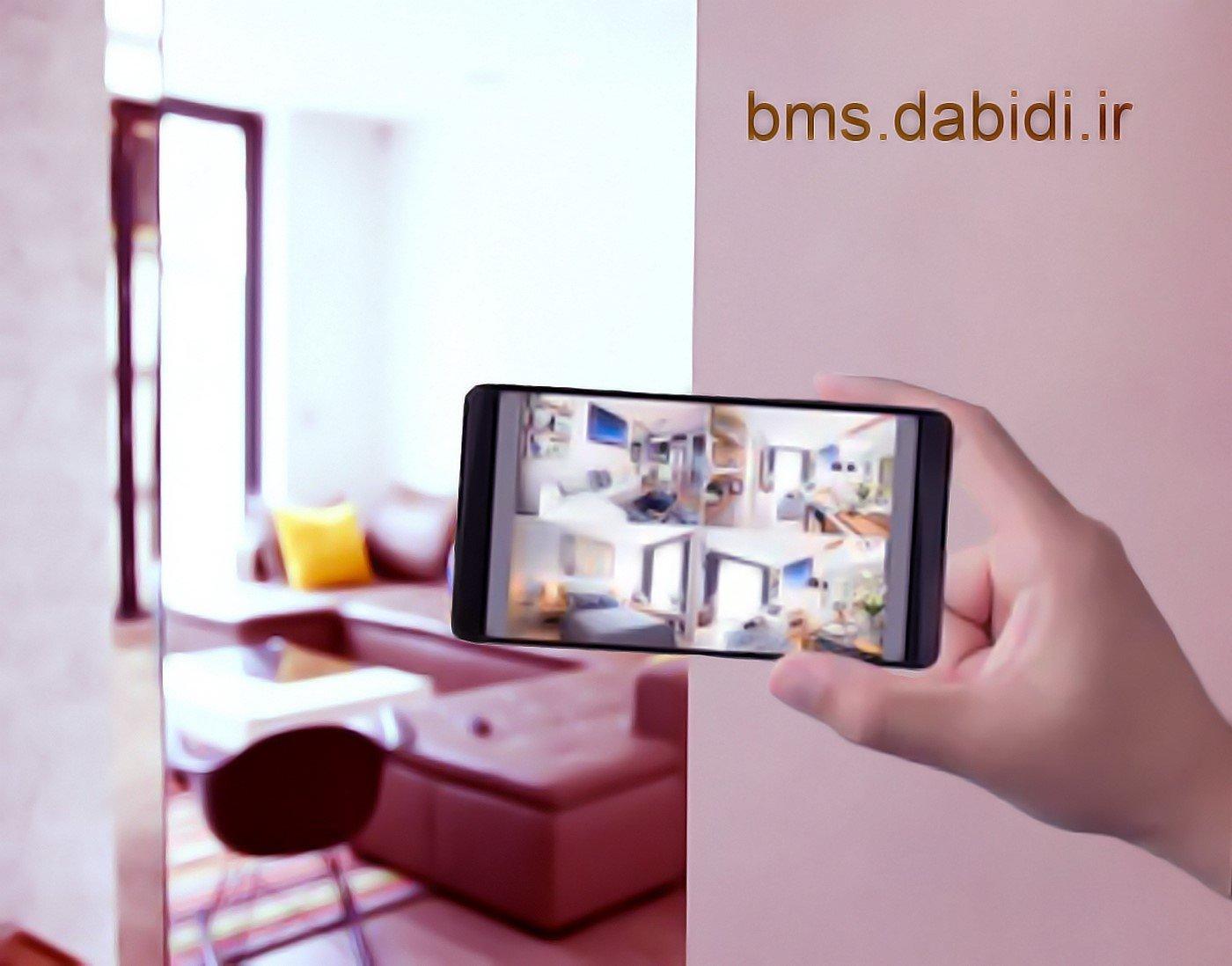 خانه هوشمند سطح امنیت و ایمنی را بسیار بالا می برد.
