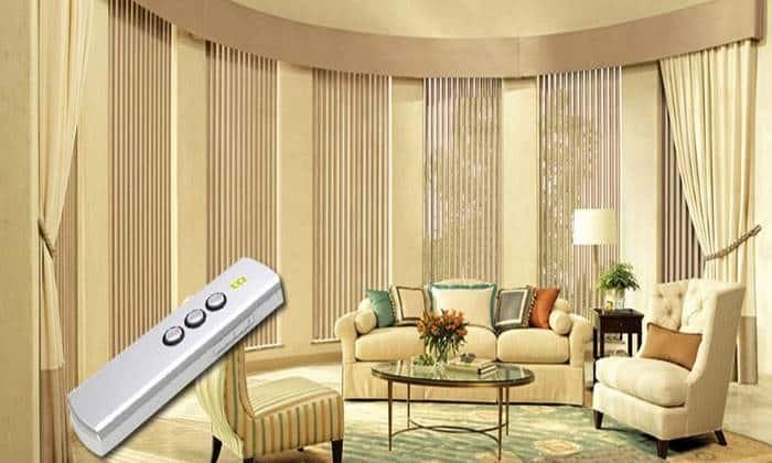 سیستم هوشمند پرده برقی در خانه هوشمند