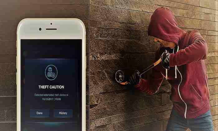 سناریوهای سیستم دزدگیر هوشمند